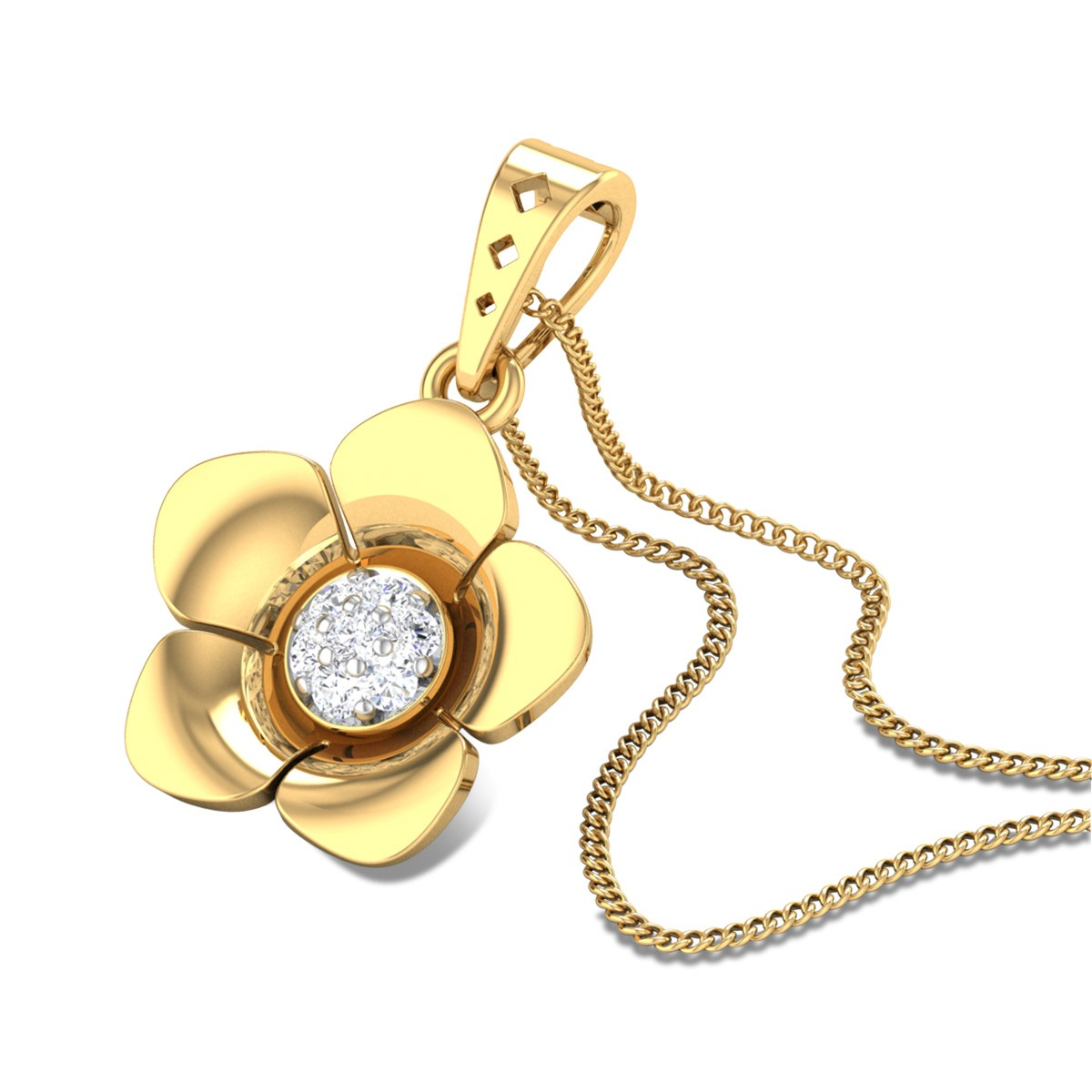 Anna Diamond Pendant