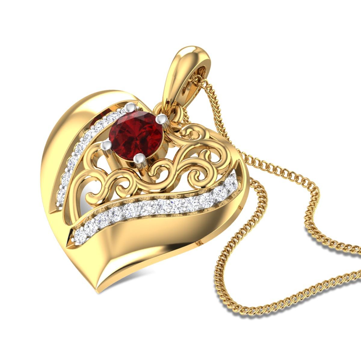 Kartavirya Heart Pendant