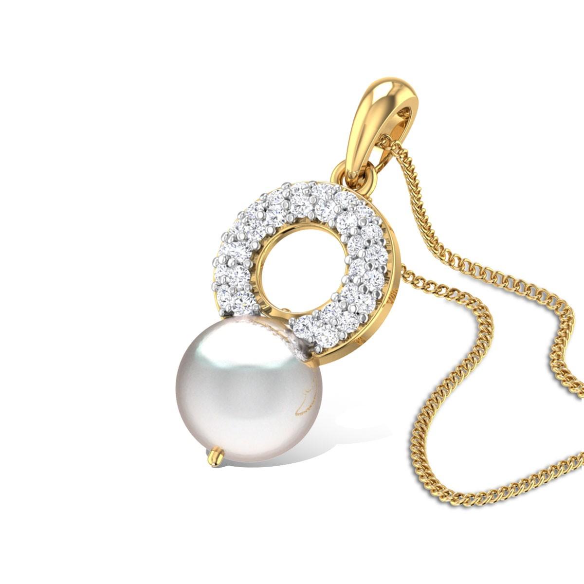 Krauncha Pearl Pendant