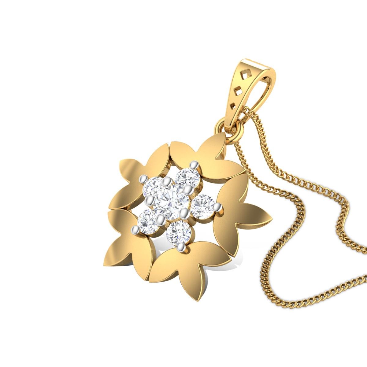 Lumina Diamond Pendant