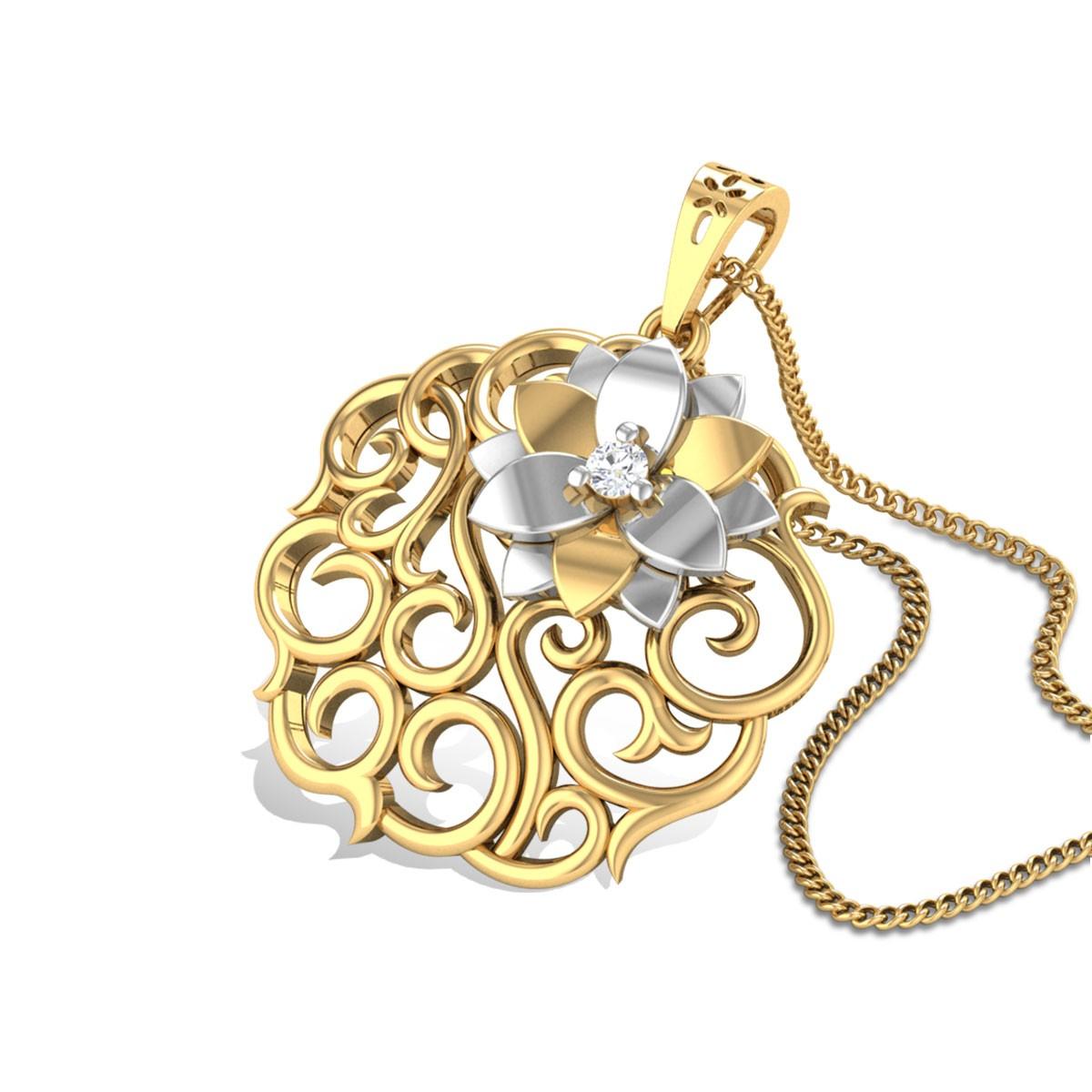 Rosella Diamond Pendant