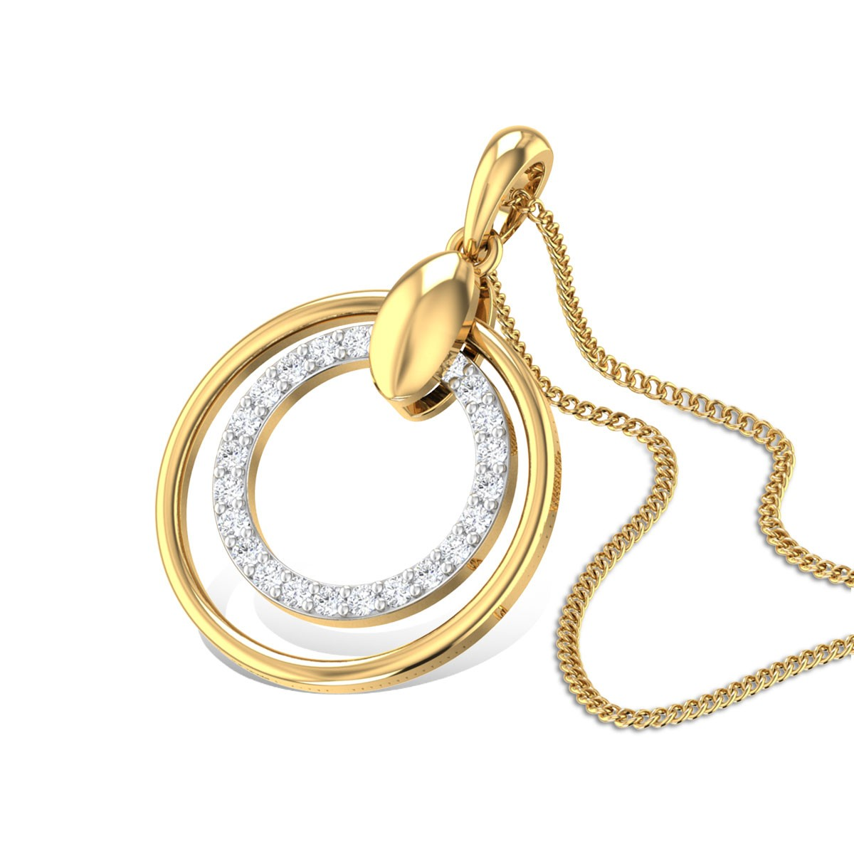 Sylvia Diamond Pendant