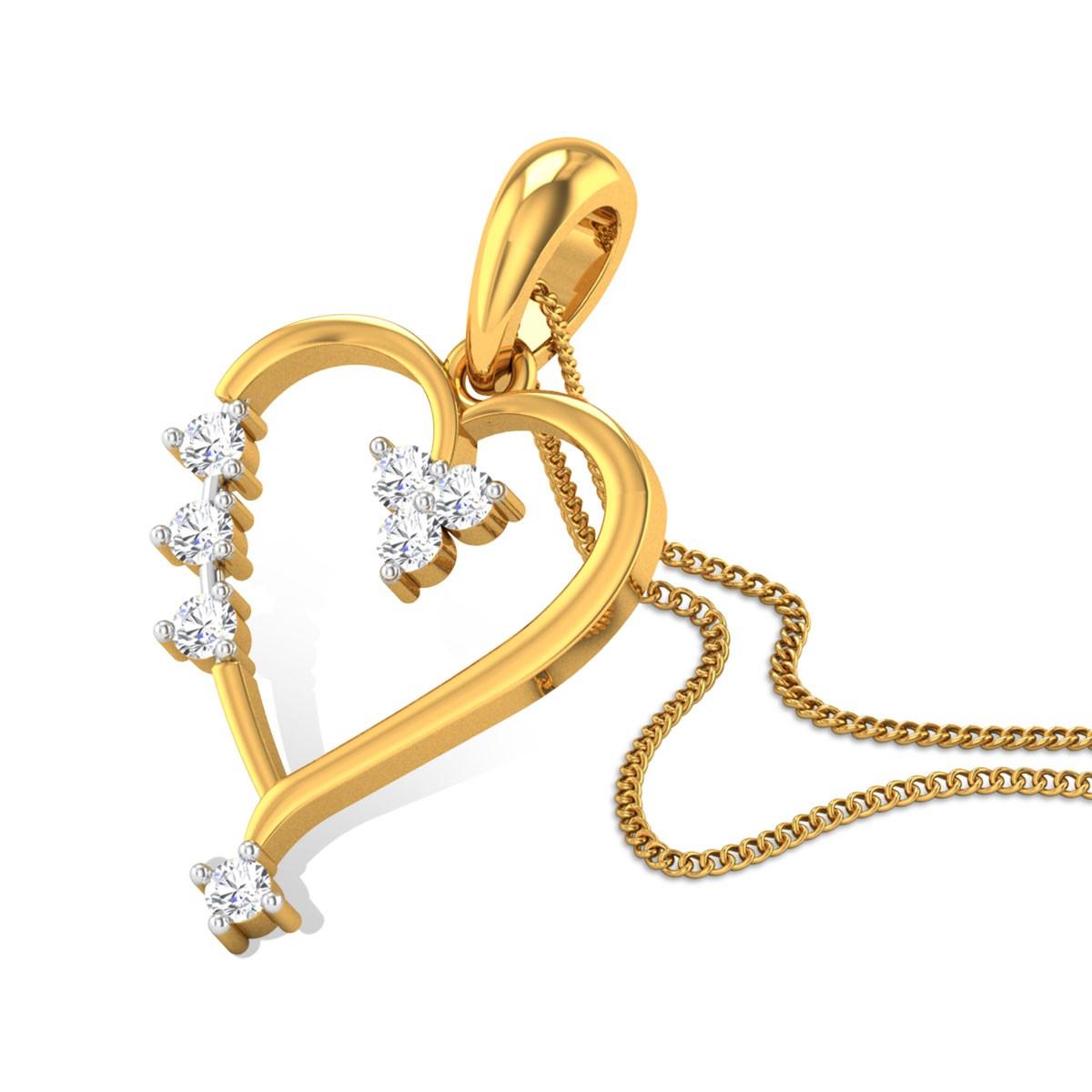 Vivendel Diamond Pendant