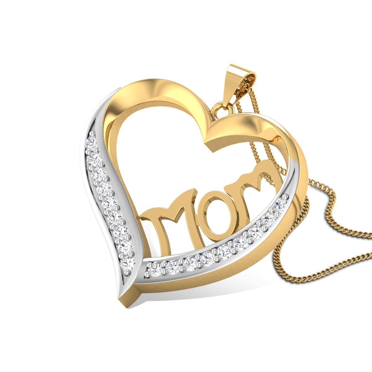 Ichene Mom Diamond Pendant