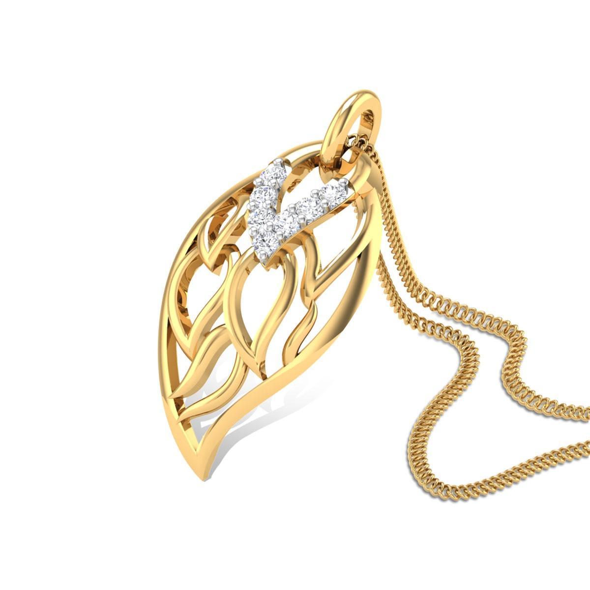 Charline Diamond Pendant