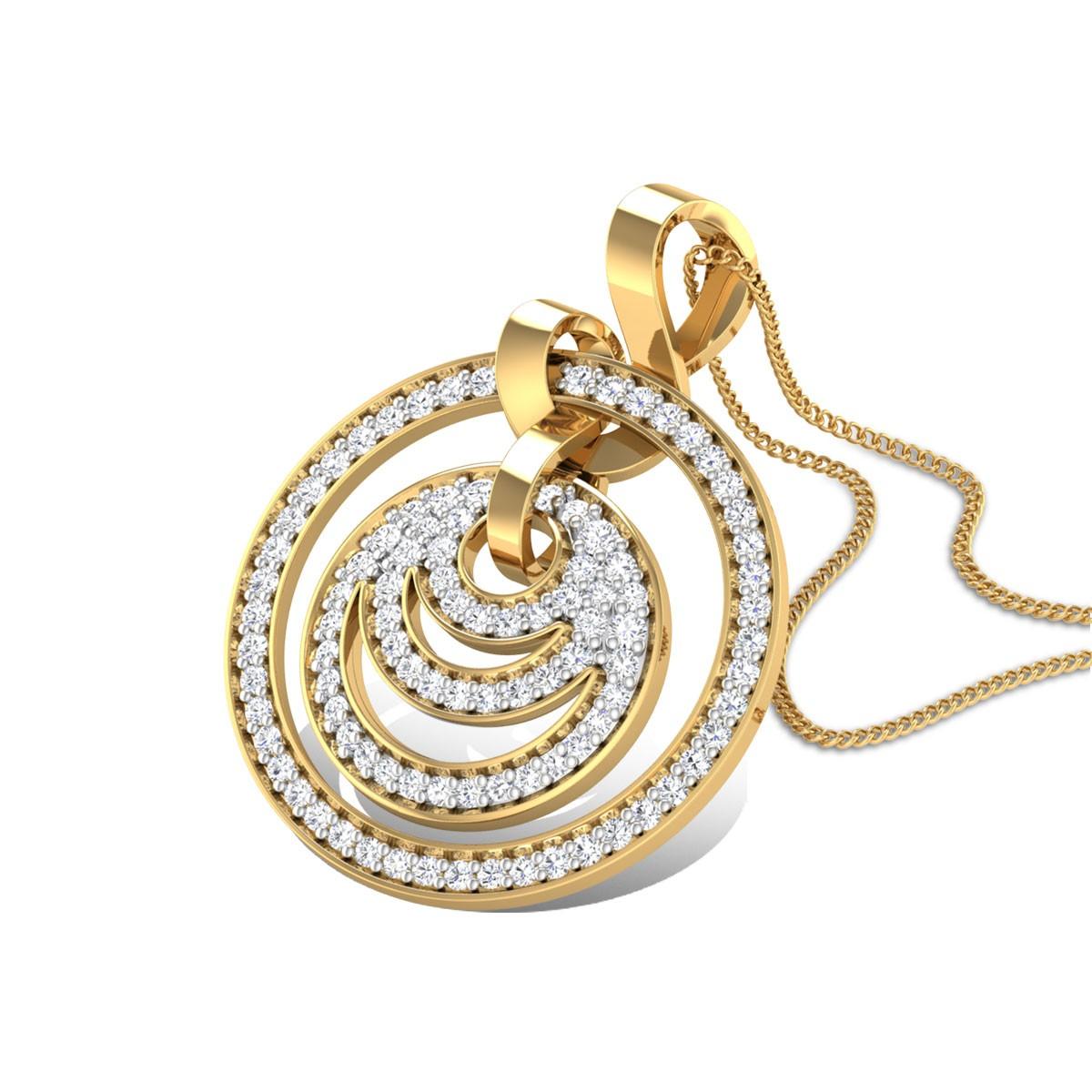 Oliva Diamond Pendant