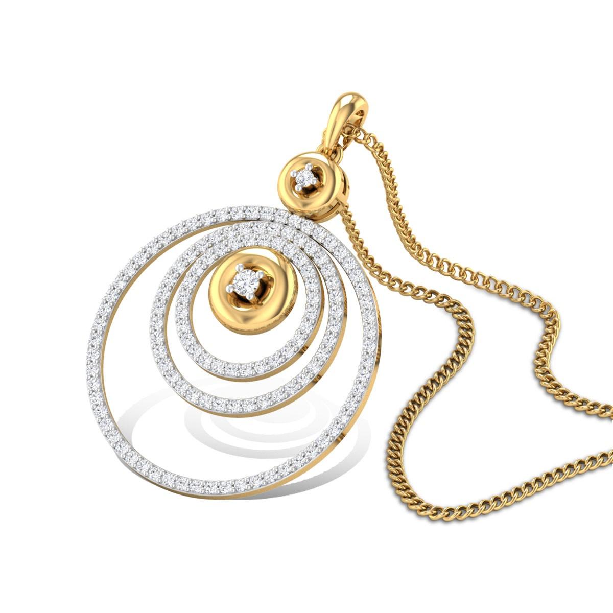 Daria Diamond Pendant