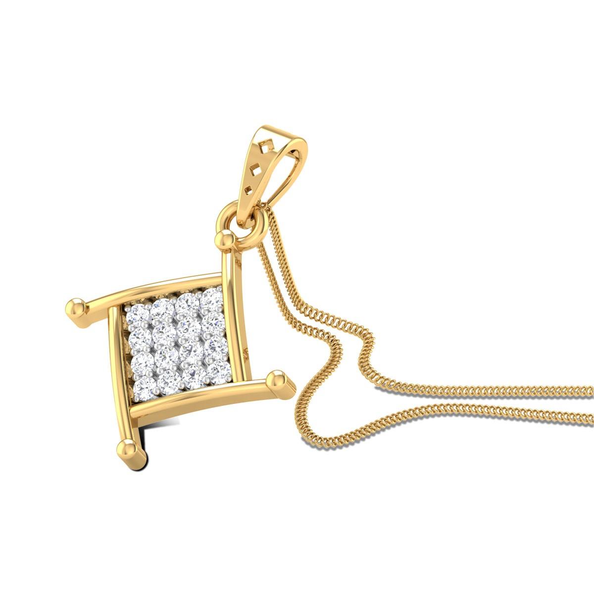 Chiquitita Diamond Pendant