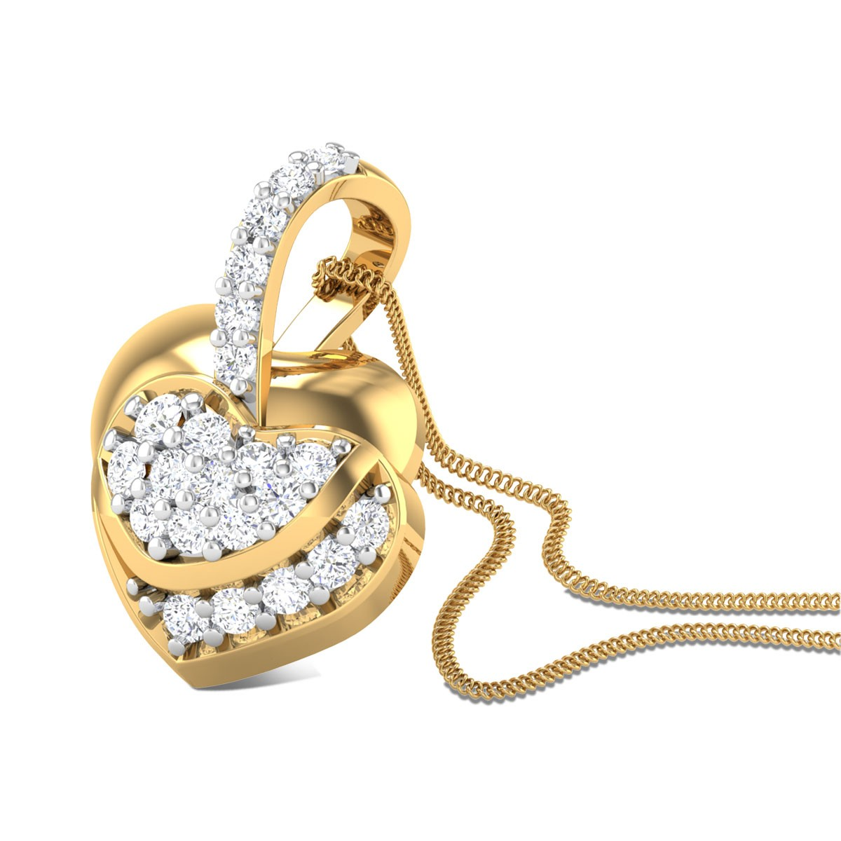 Enamour Love Diamond Pendant