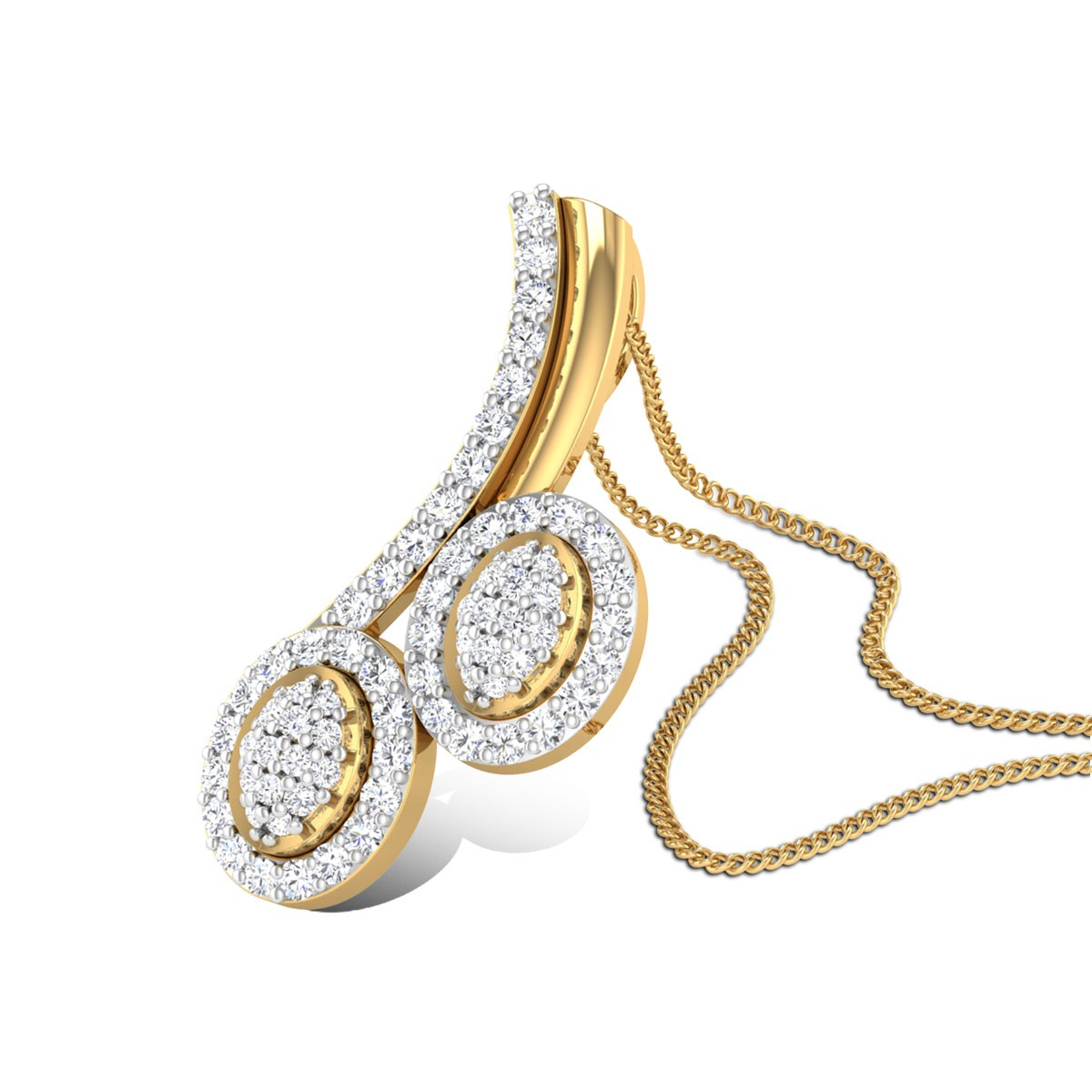 Achelous Diamond Pendant