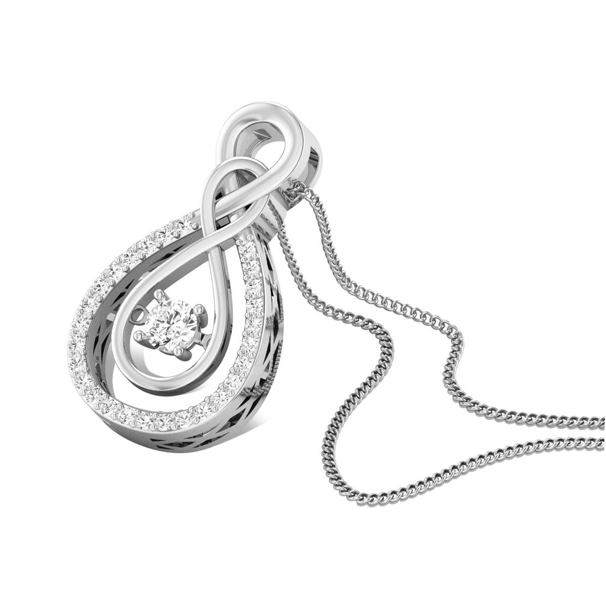 Minuet Diamond Pendant