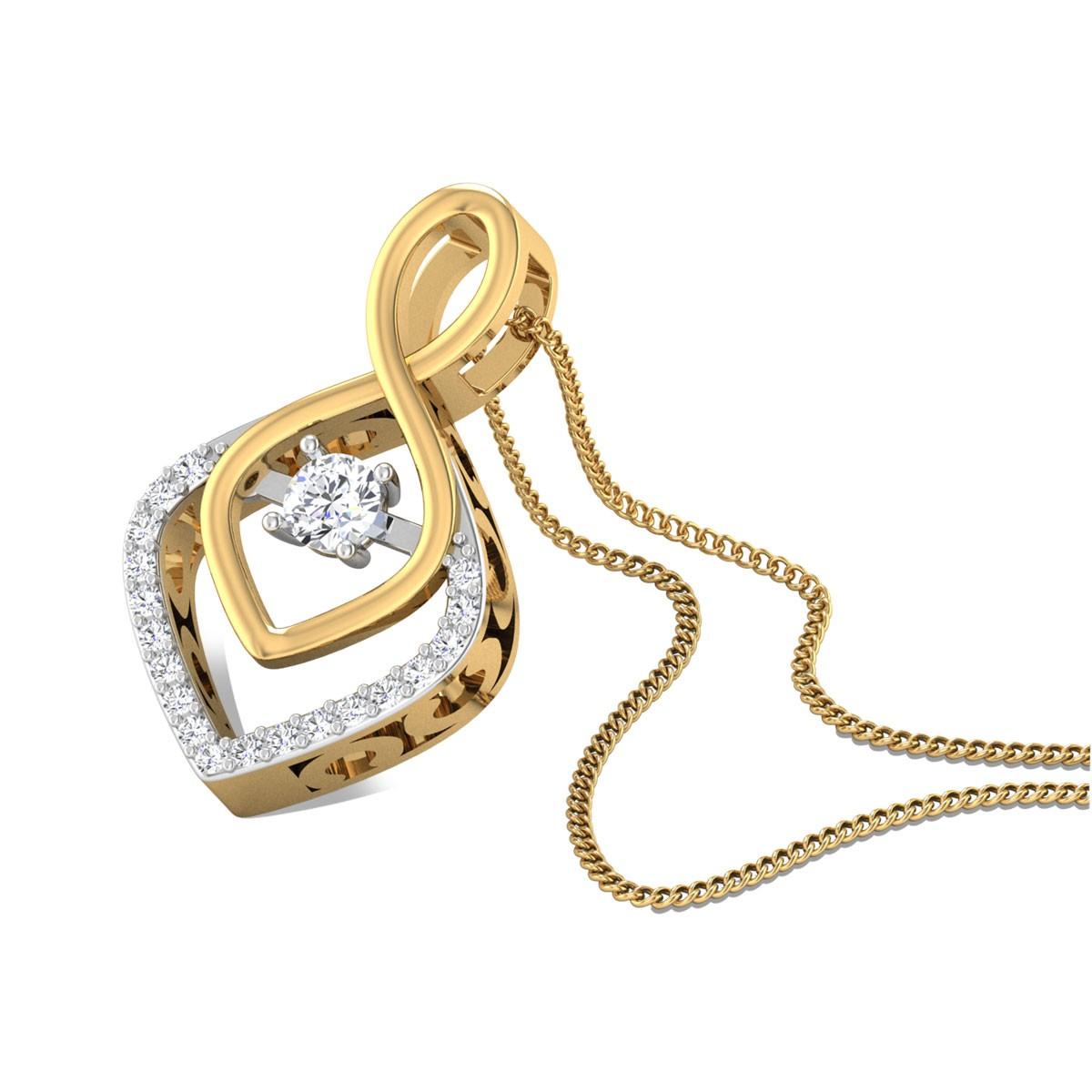 Apsara Diamond Pendant