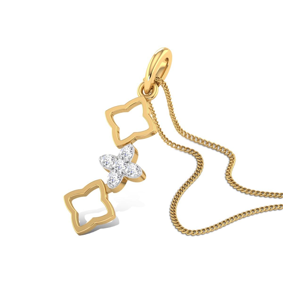 Fortune Teller Diamond Pendant