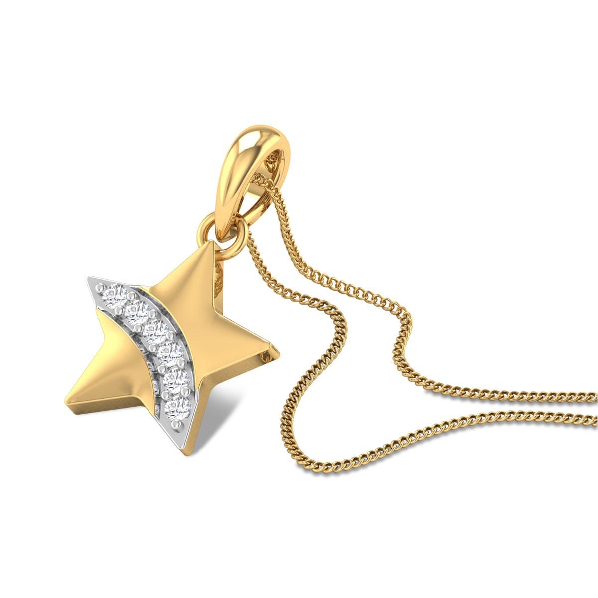 Baby Star Diamond Pendant