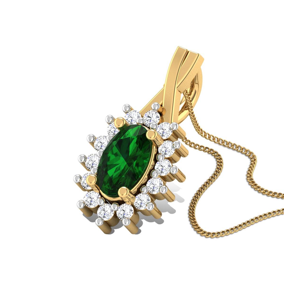 Gia Diamond Pendant