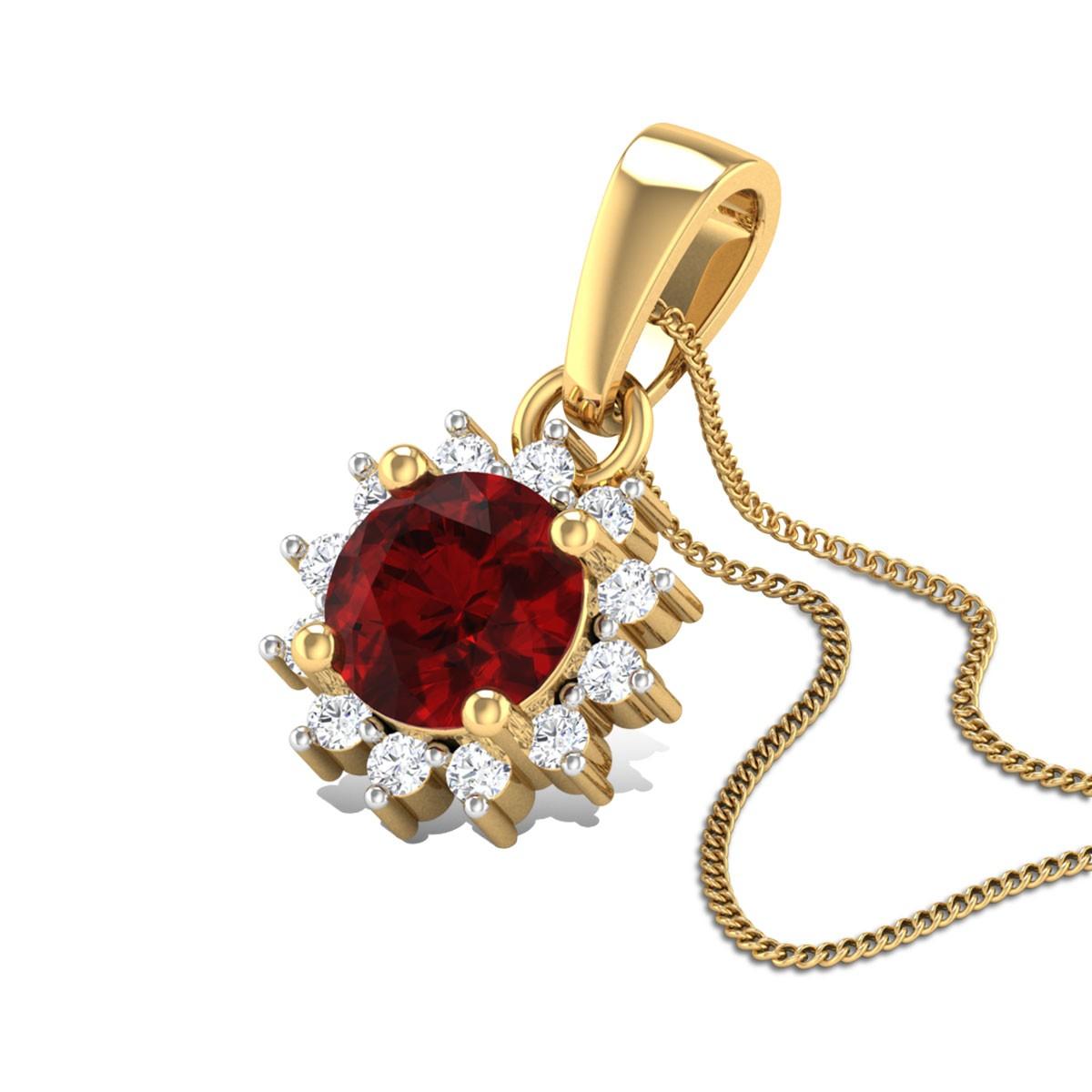 Precious Diamond Pendant