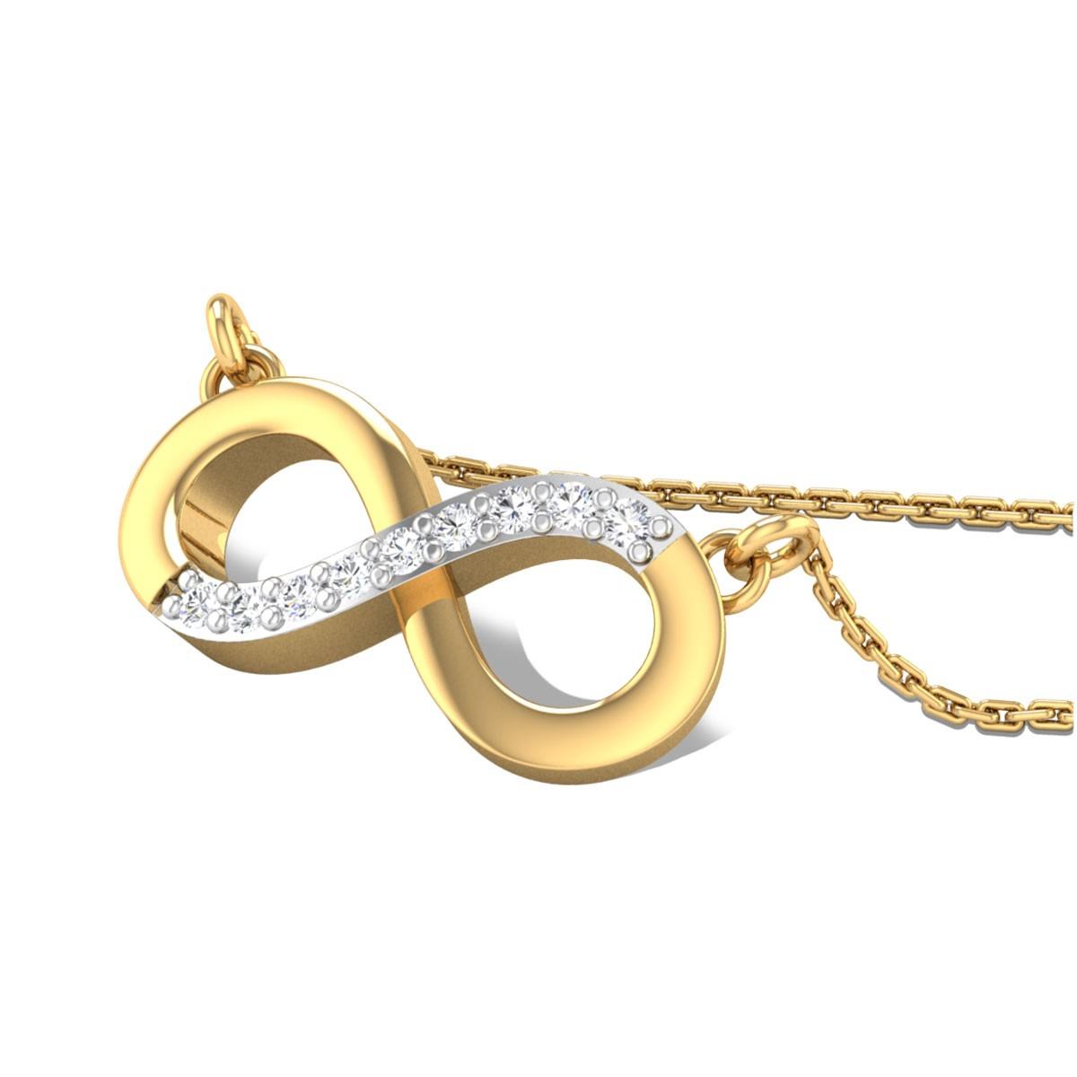 Azalea Diamond Pendant