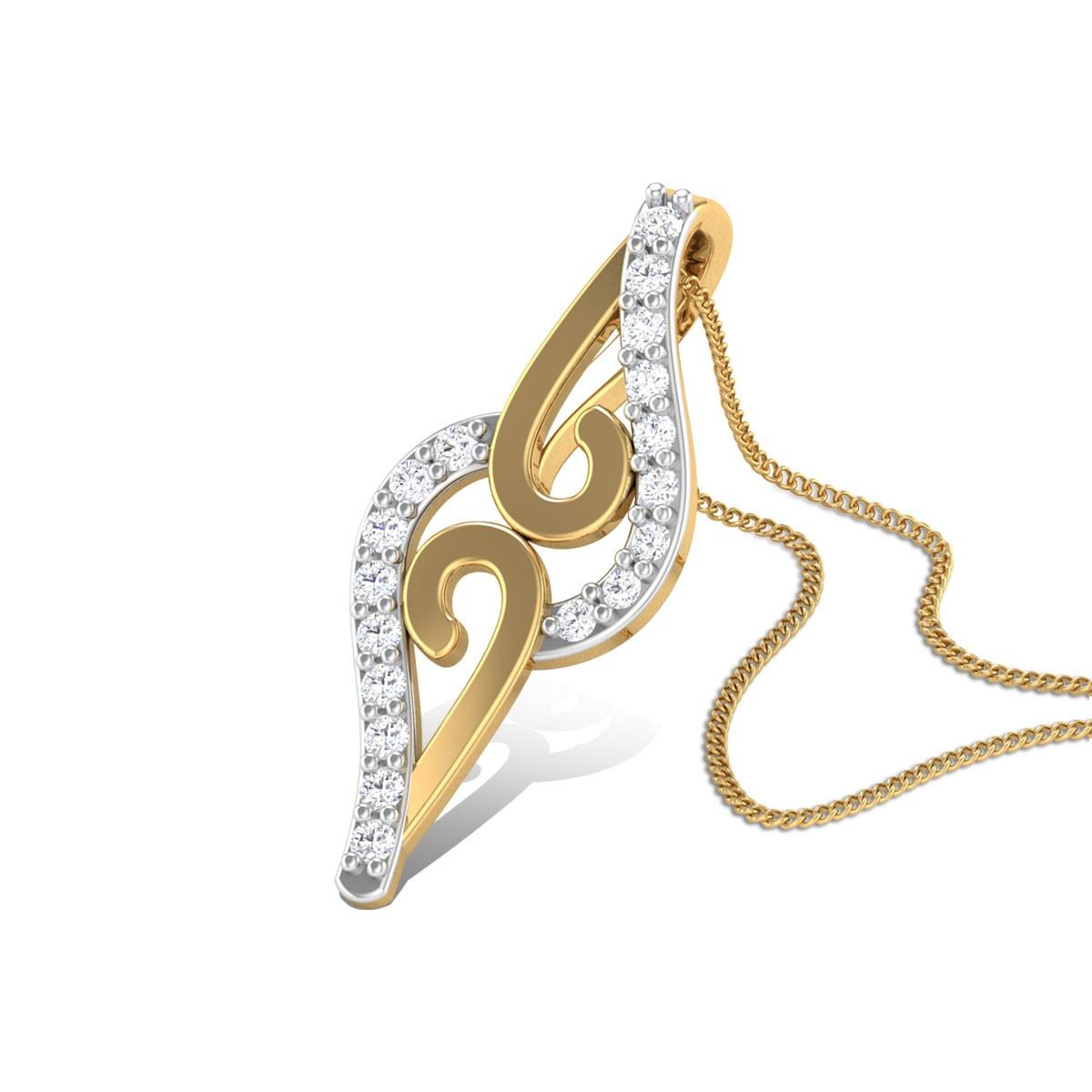 Flirtation Diamond Pendant