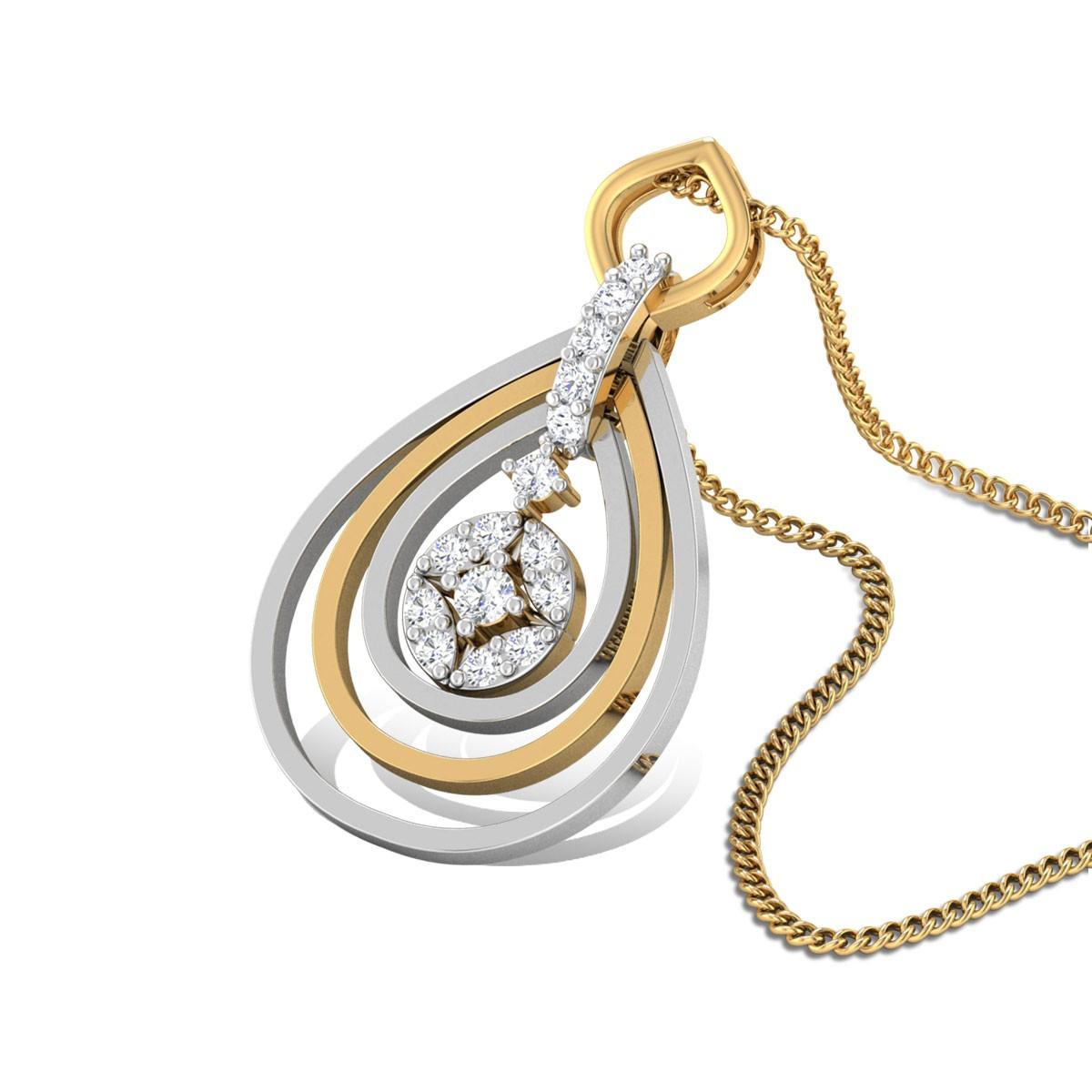 Eeshanya Diamond Pendant