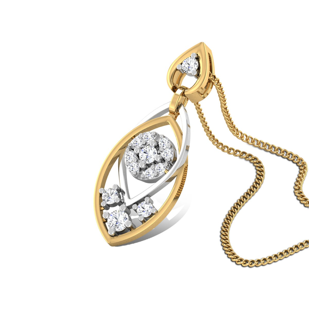 Drishta Diamond Pendant