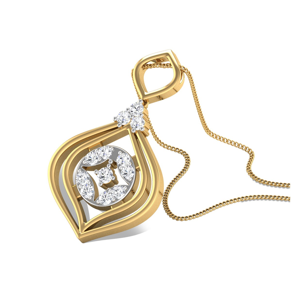 Nrupa Diamond Pendant