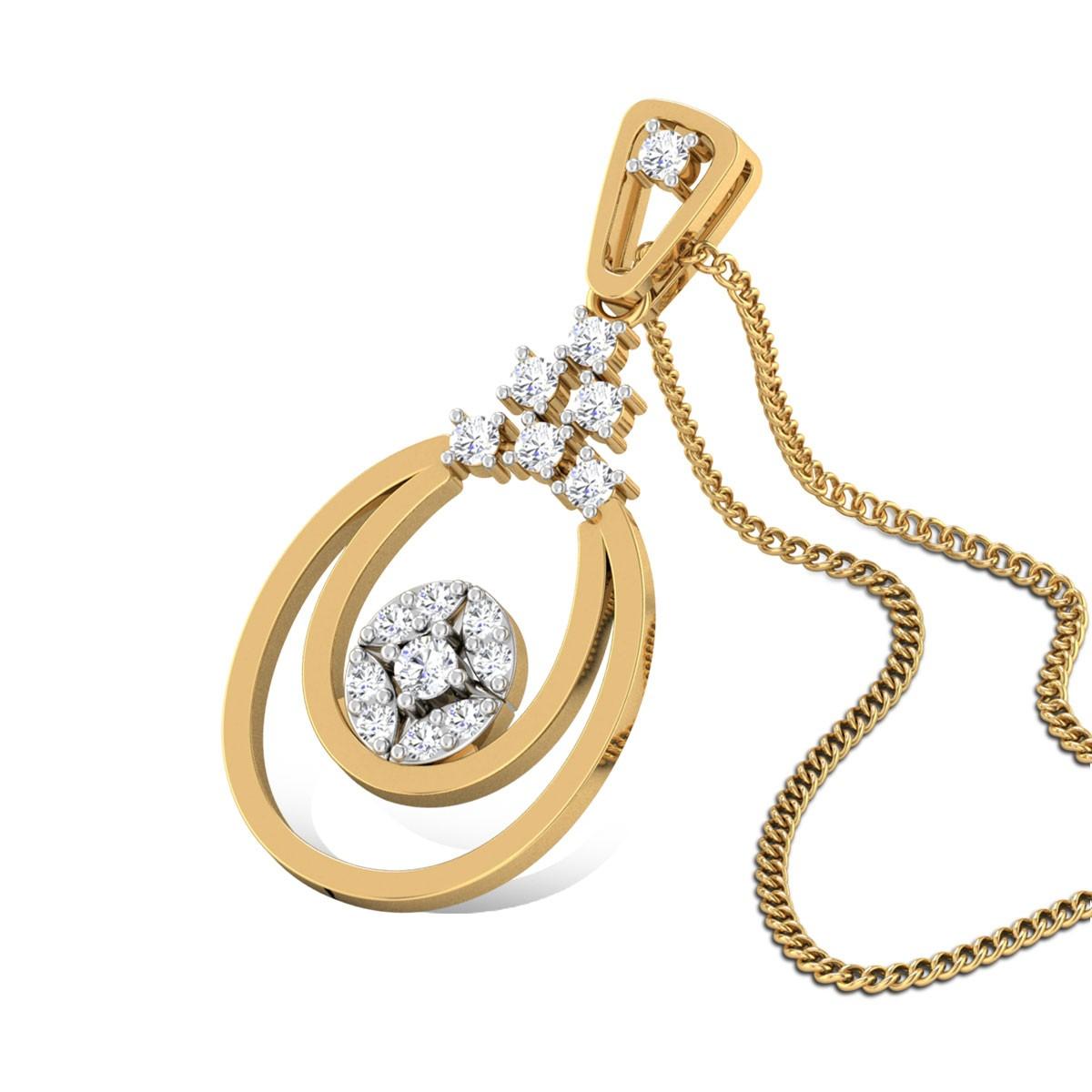 Laelius Diamond Pendant