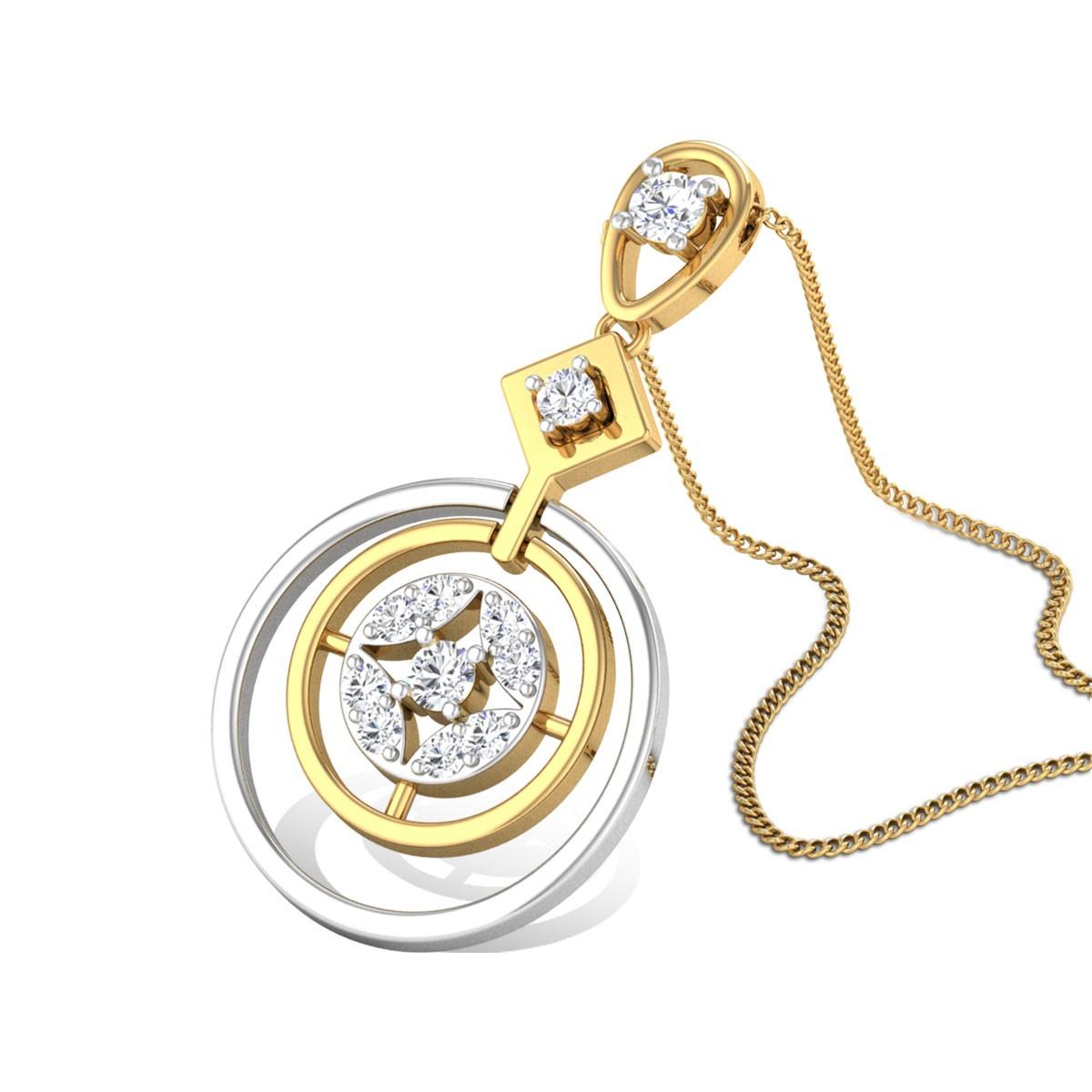 Pastle Shine Diamond Pendant
