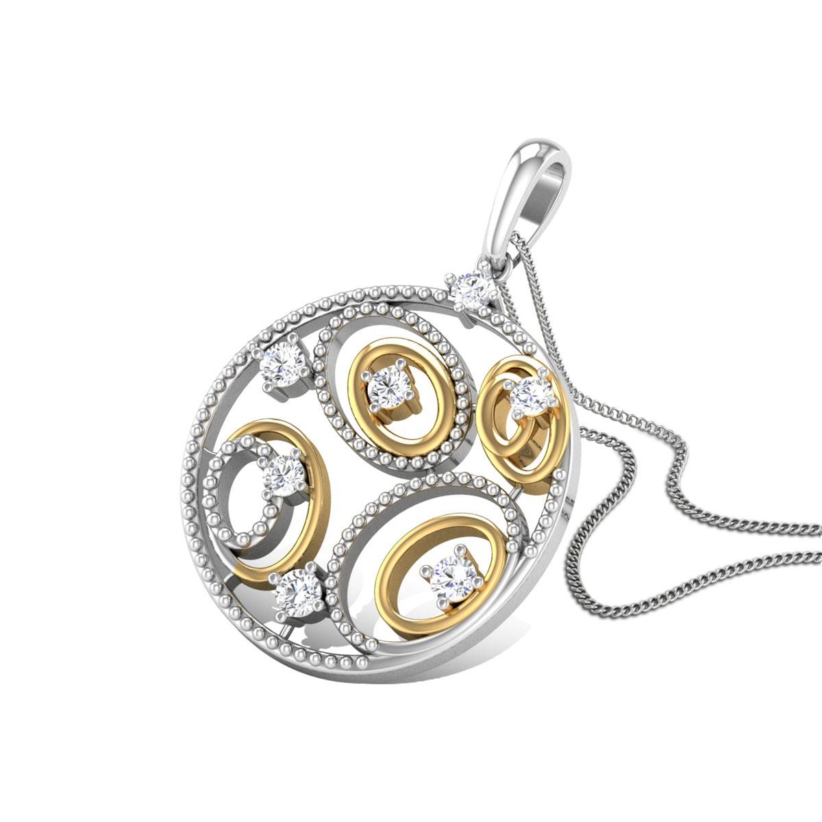 Opalescenta Diamond Pendant