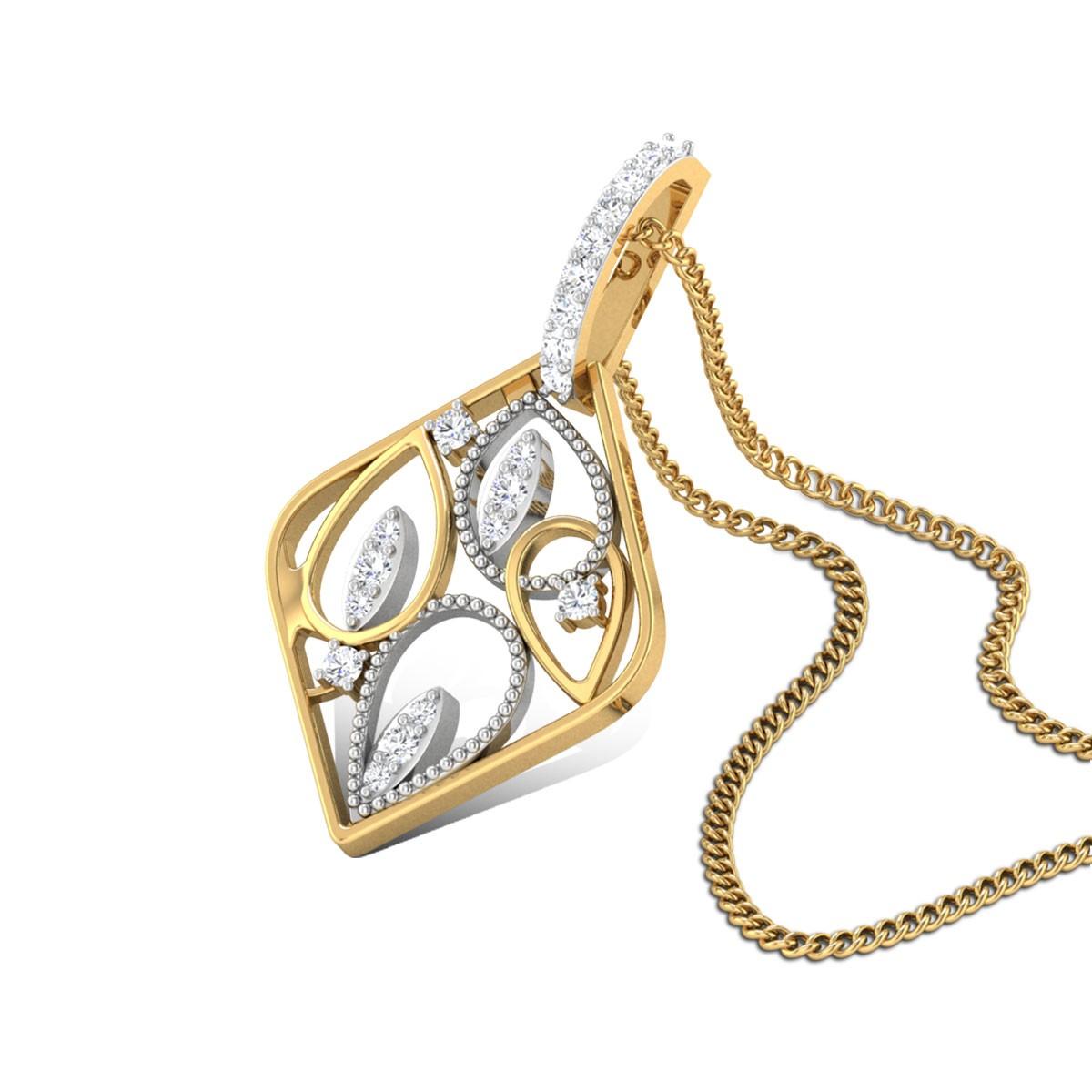 Festive Splendor Diamond Pendant