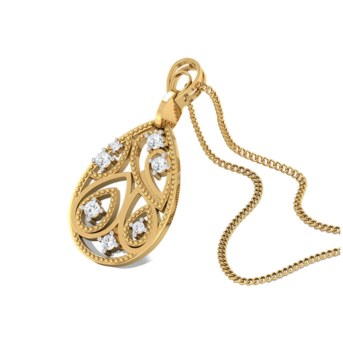 Riddhi Diamond Pendant
