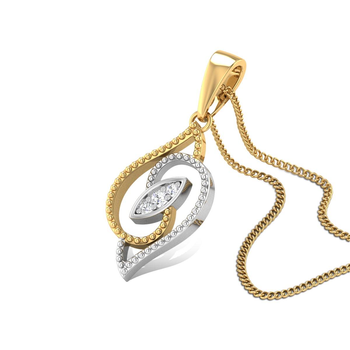 Shimmering Delight Diamond Pendant
