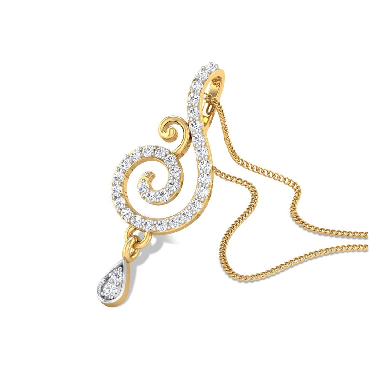 Pontus Diamond Pendant