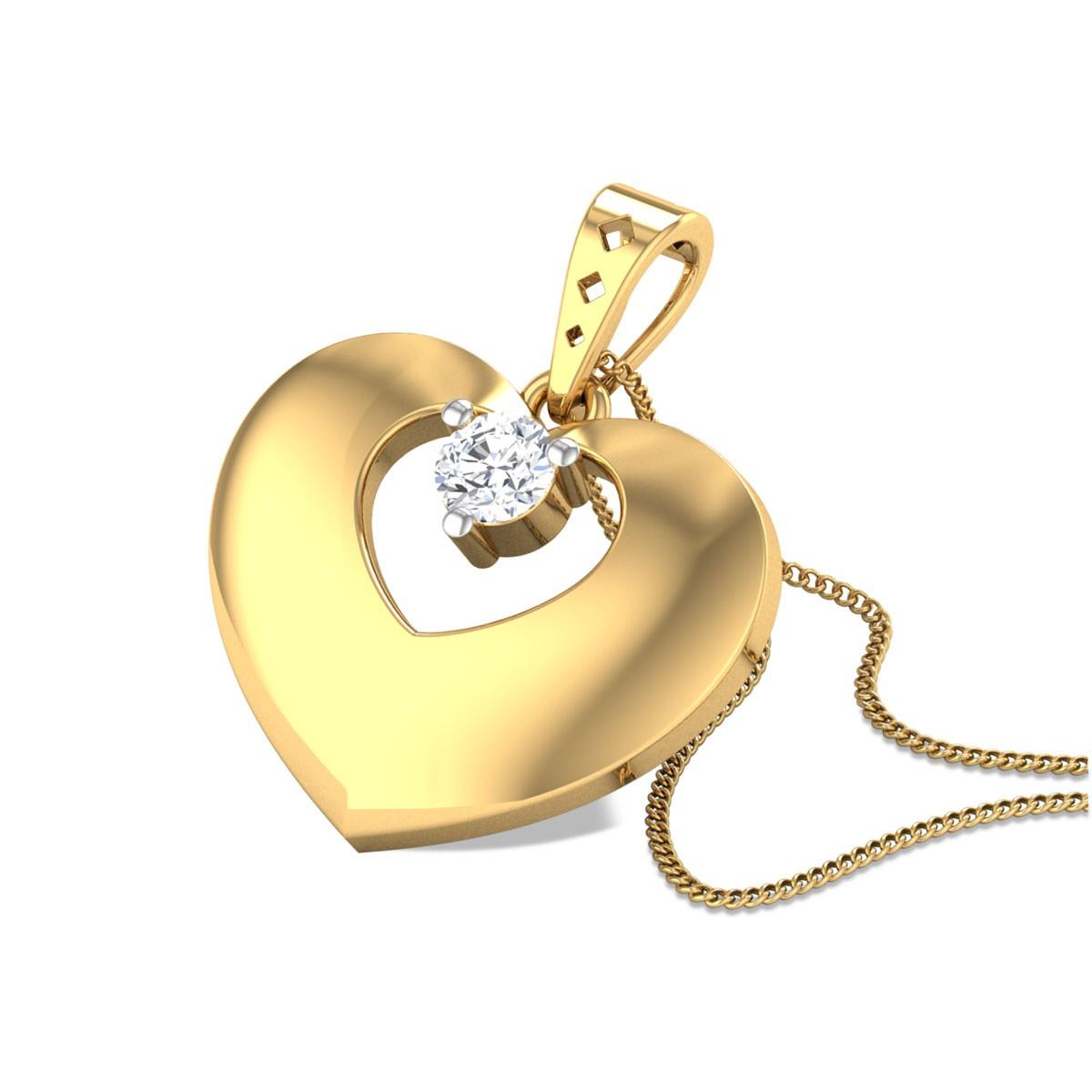 Ambrosine Heart Pendant