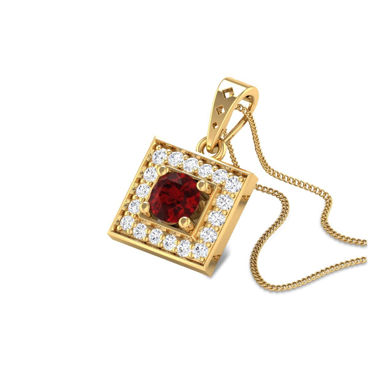 Afaaf Royal Ruby Pendant