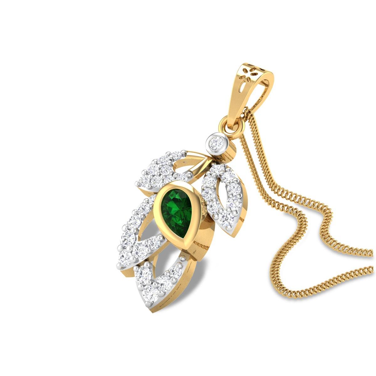 Andalib Emerald Pendant