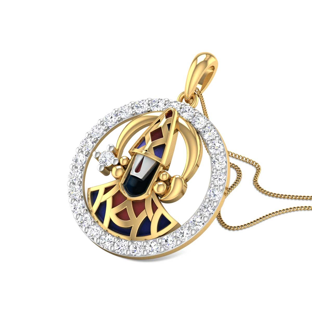 Padmanabha Diamond Pendant