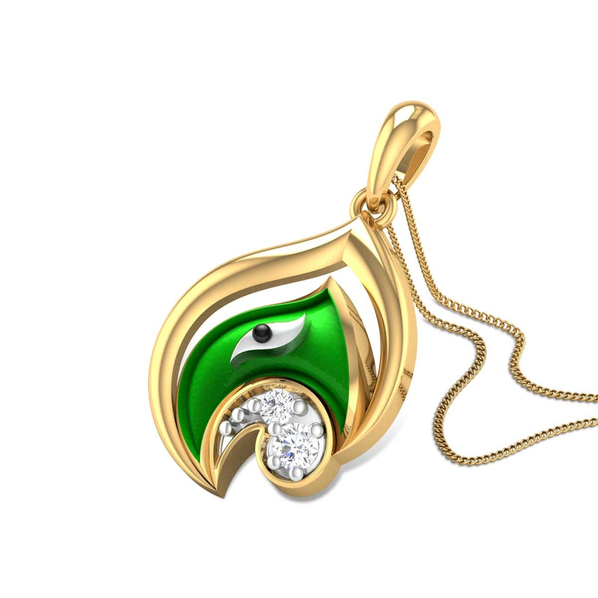Vigna Vinayaka Diamond Pendant