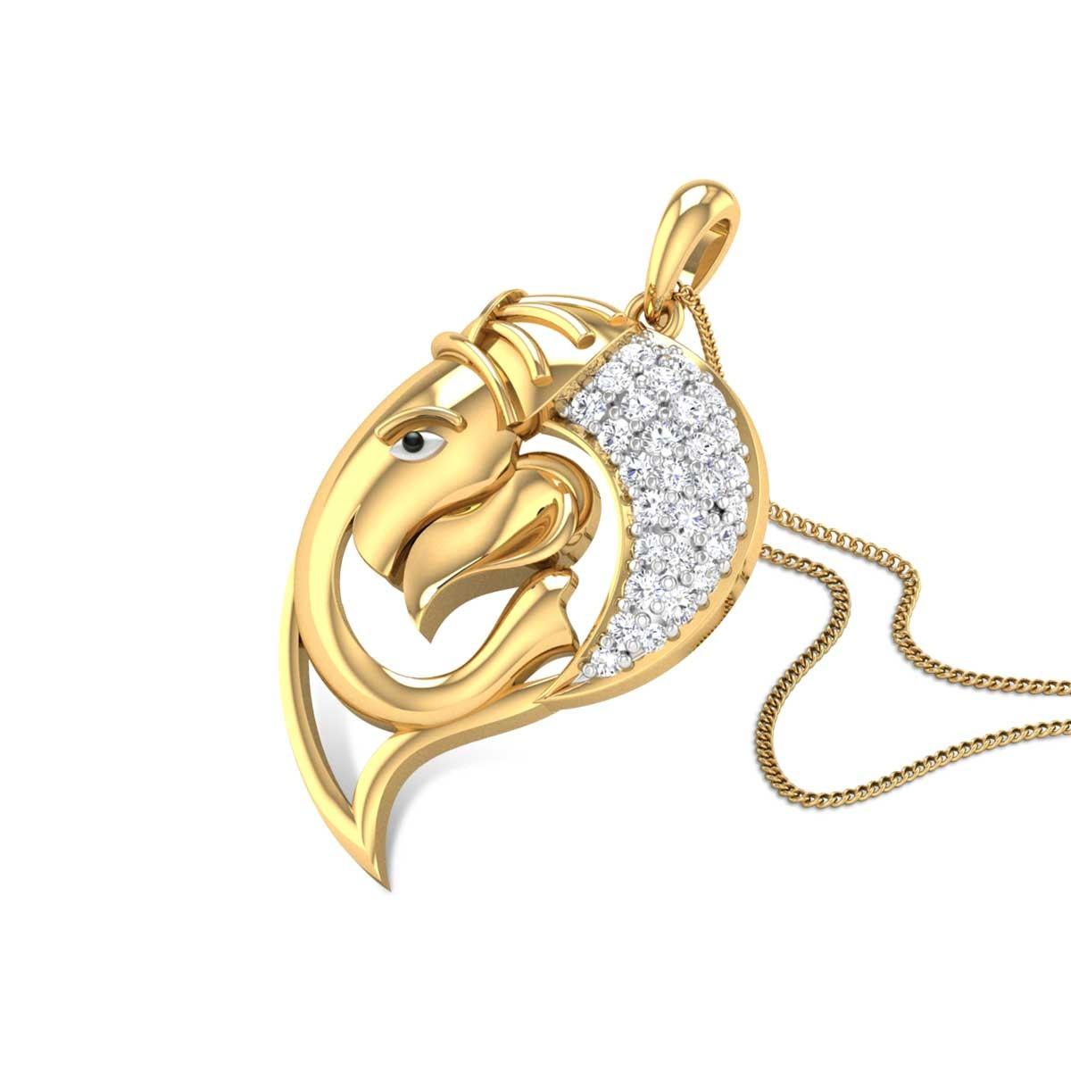Ganotkata Diamond Pendant