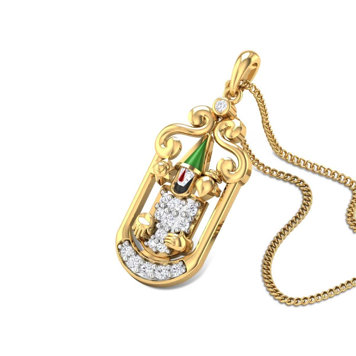Mukuntha Diamond Pendant