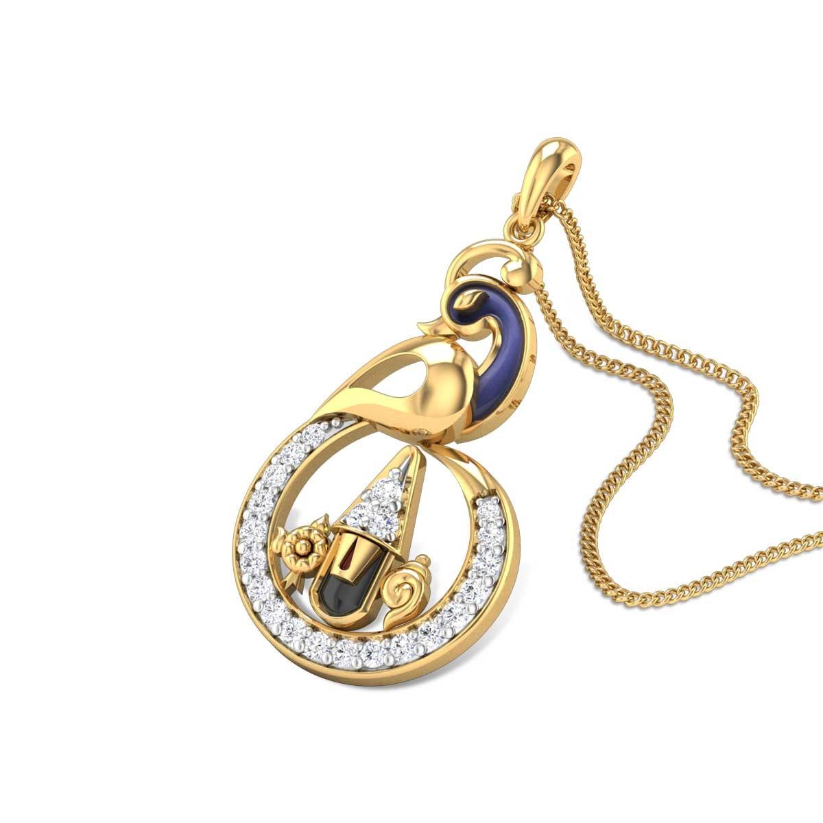 Chandrakin Perumal Diamond Pendant