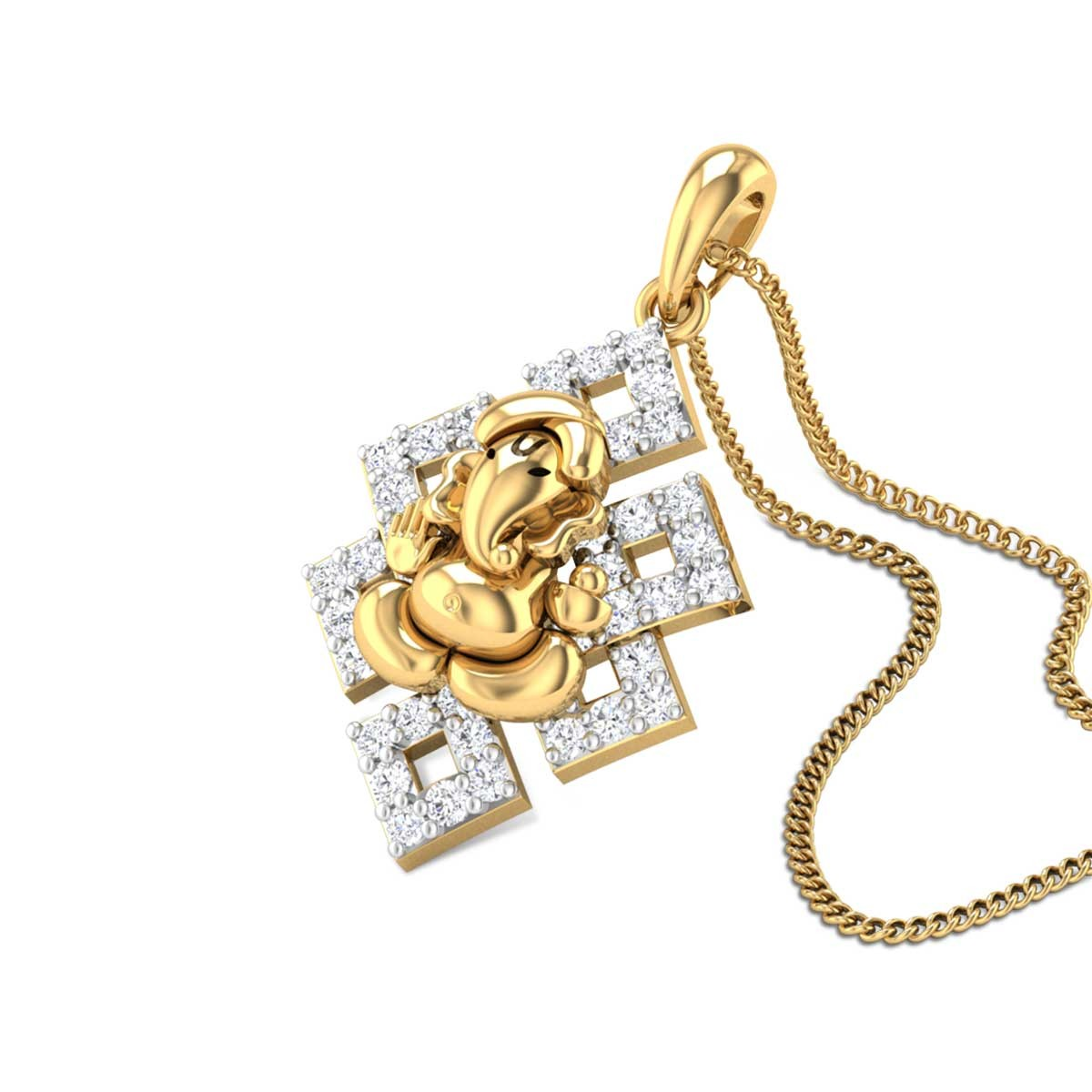 Guneshvara Diamond Pendant