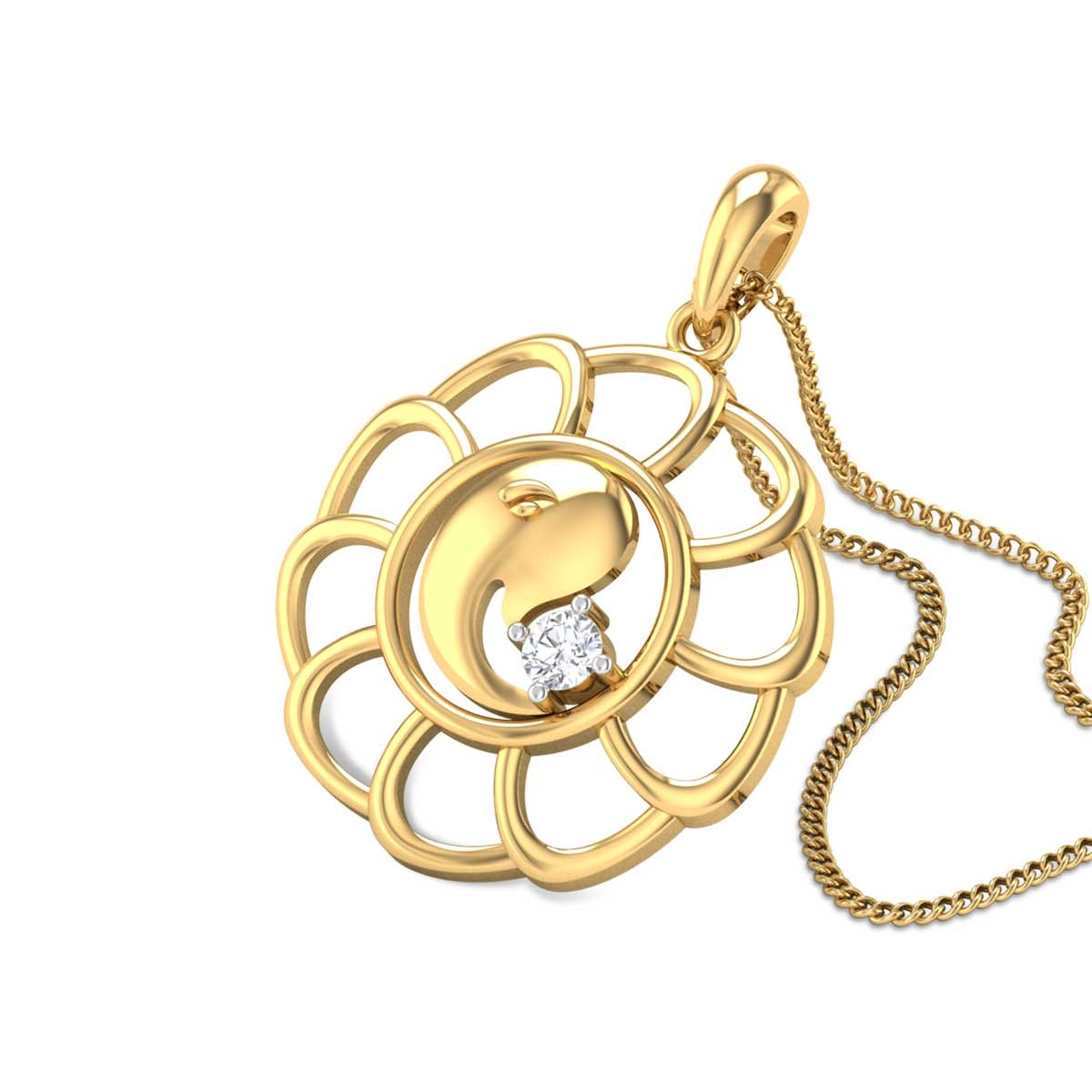 Garbhapushtikara Diamond Pendant