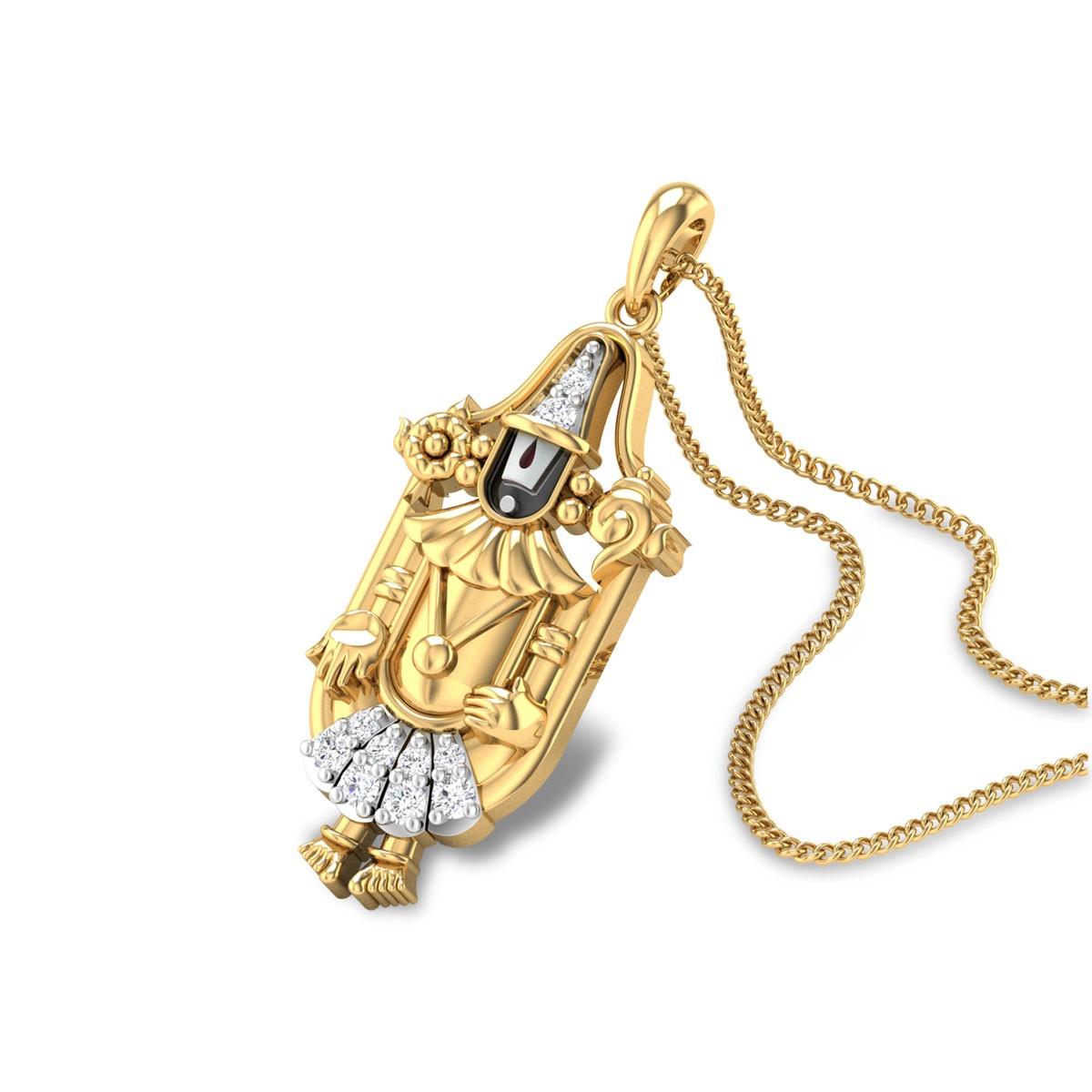 Narayana Diamond Pendant
