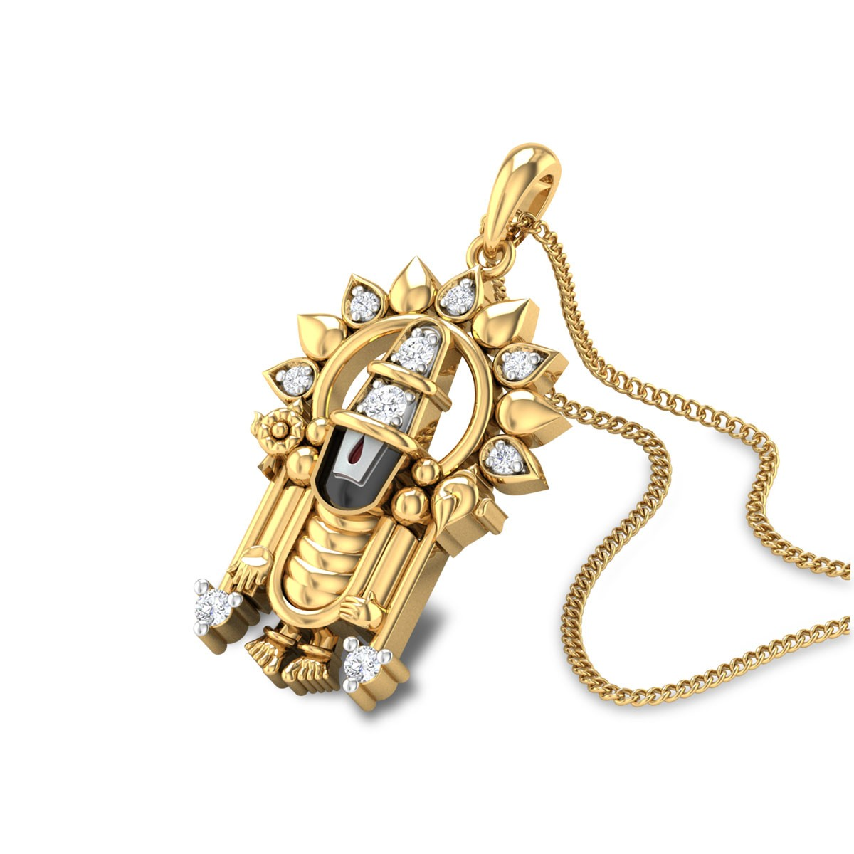 Chalapathy Diamond Pendant