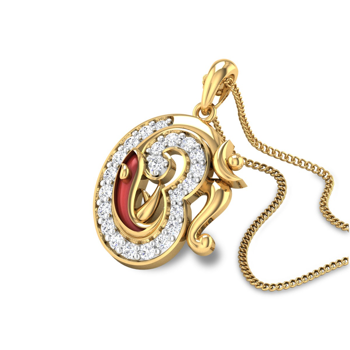 Varadavinayaka Diamond Pendant