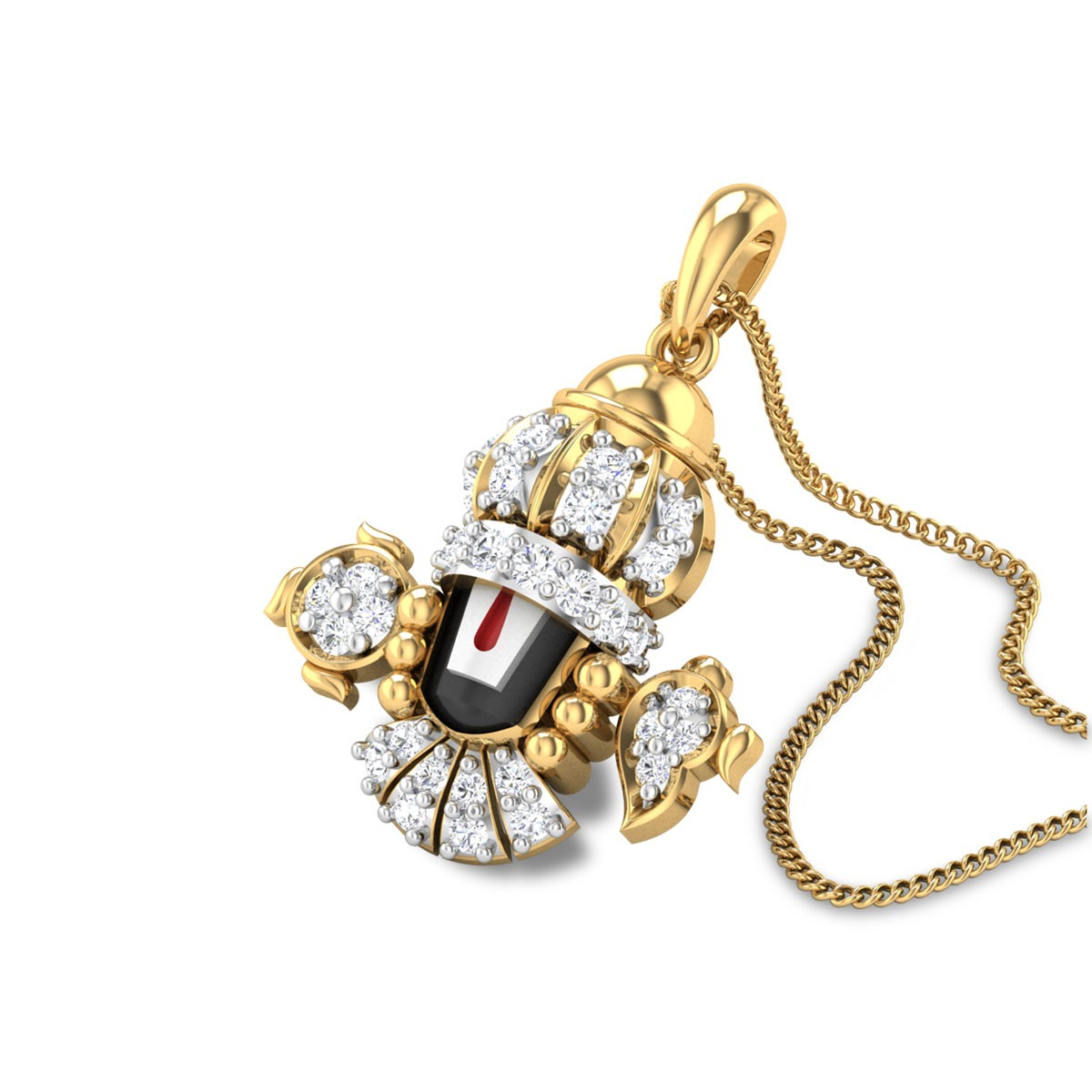 Srinibash Diamond Pendant