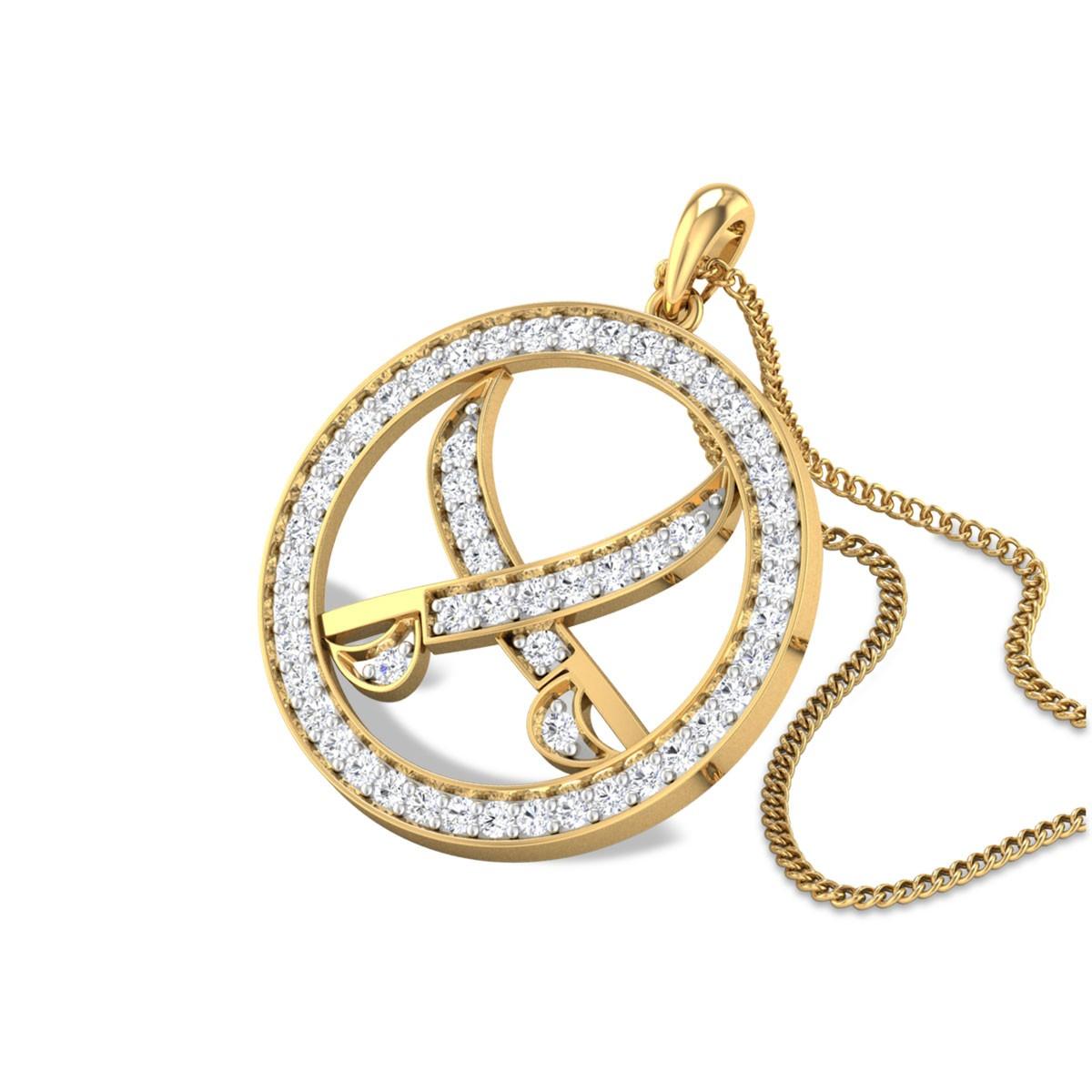 Khanda Diamond Pendant
