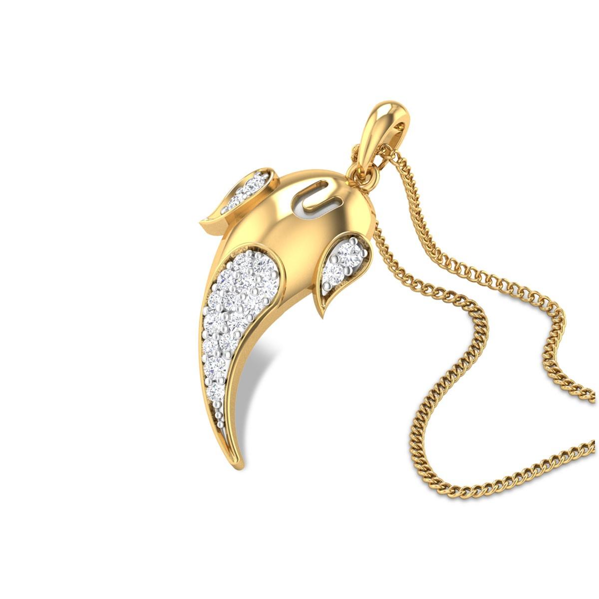 Lambakarna Diamond Pendant
