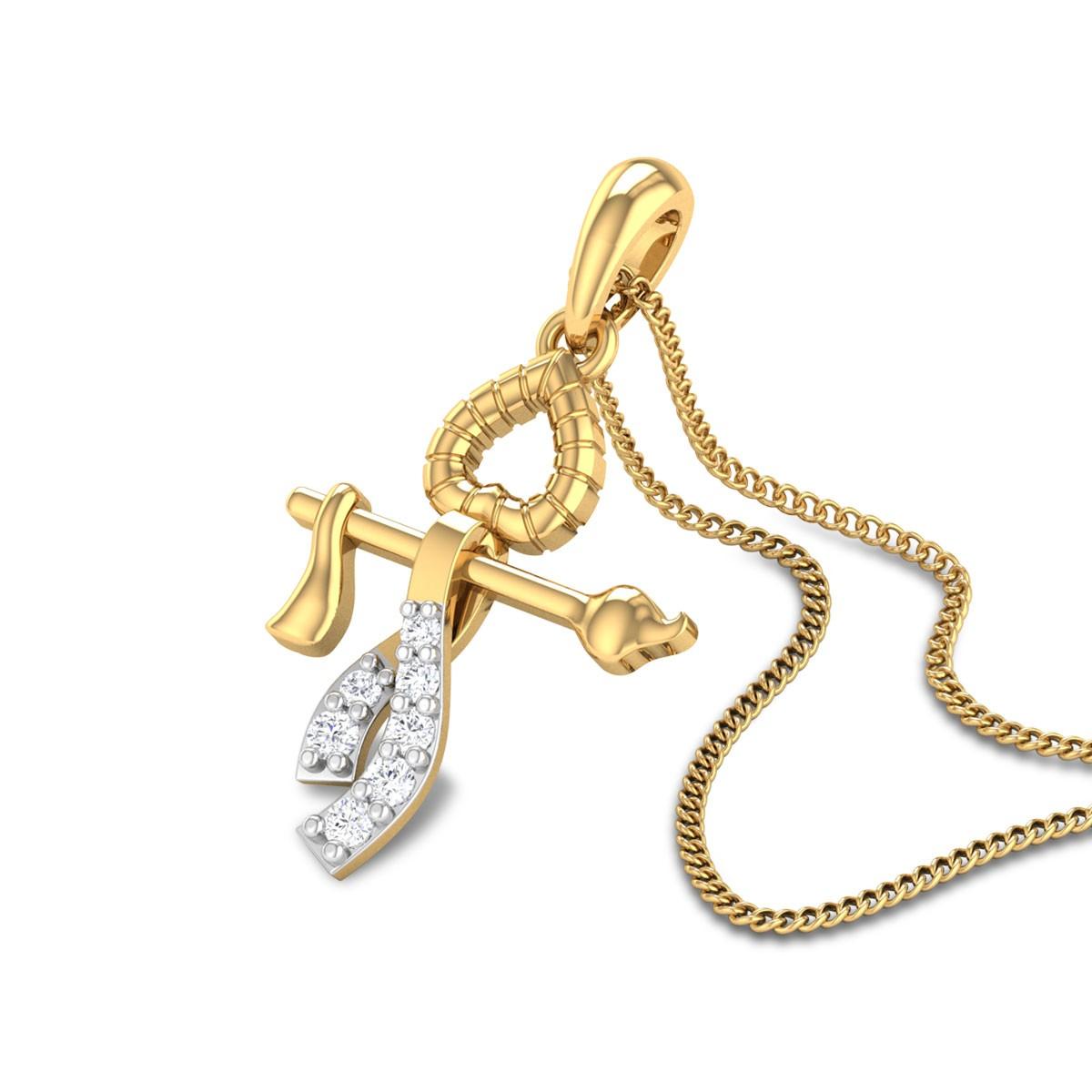 Madhusudan Diamond Pendant
