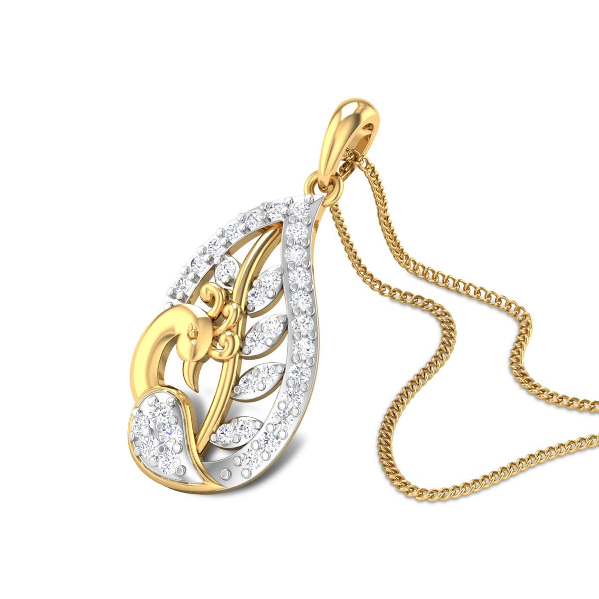 Graysen Mayuri Diamond Pendant